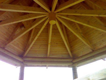 Складний дах альтанки