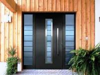 Entrance doors, how to choose steel doors, wooden house
